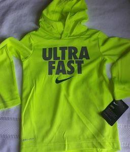 Nike dri fit long sleeve hoodie SHIRT